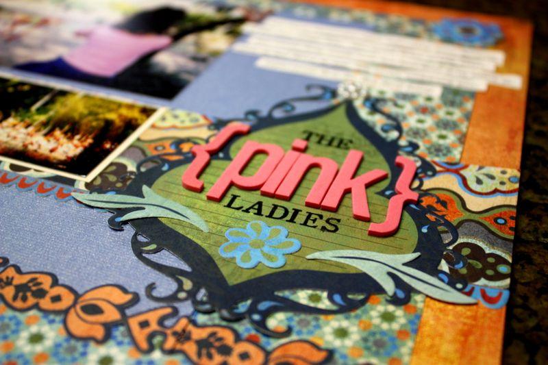 The Pink Ladies closeup