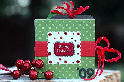 Holiday mini book cover