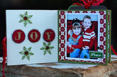 Holiday Mini book page 1