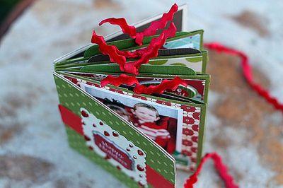 Holiday Mini book top