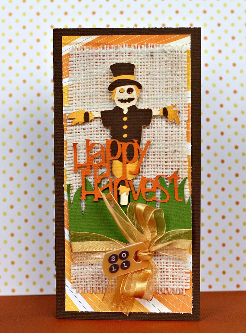 Happy Harvest Card