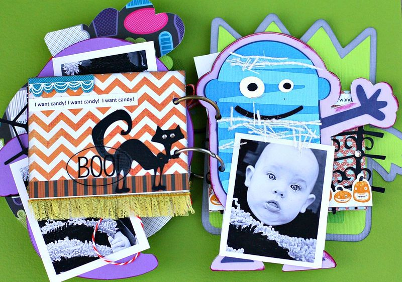 Halloween Mini Book Page 4