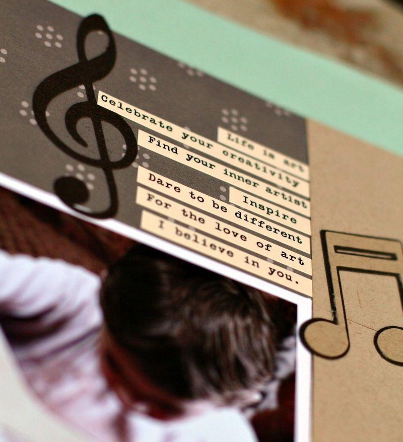 The Music in You closeup