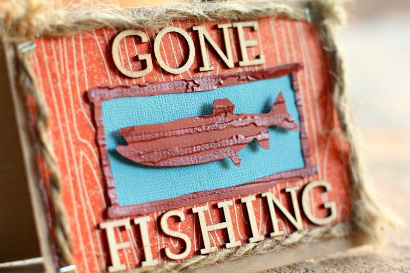 Gone Fishing closeup