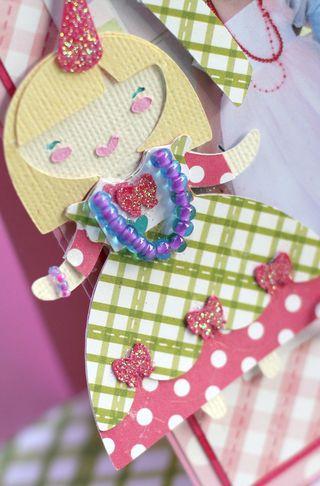 Princess Card Doll 1 closeup 2