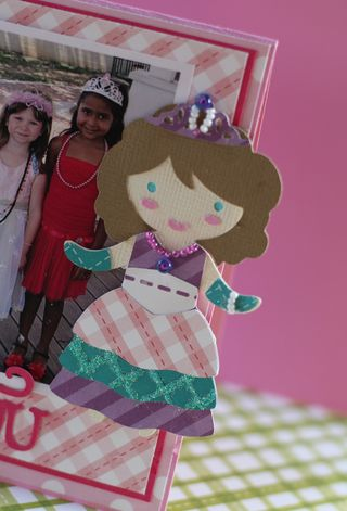 Princess Card Doll 2 closeup
